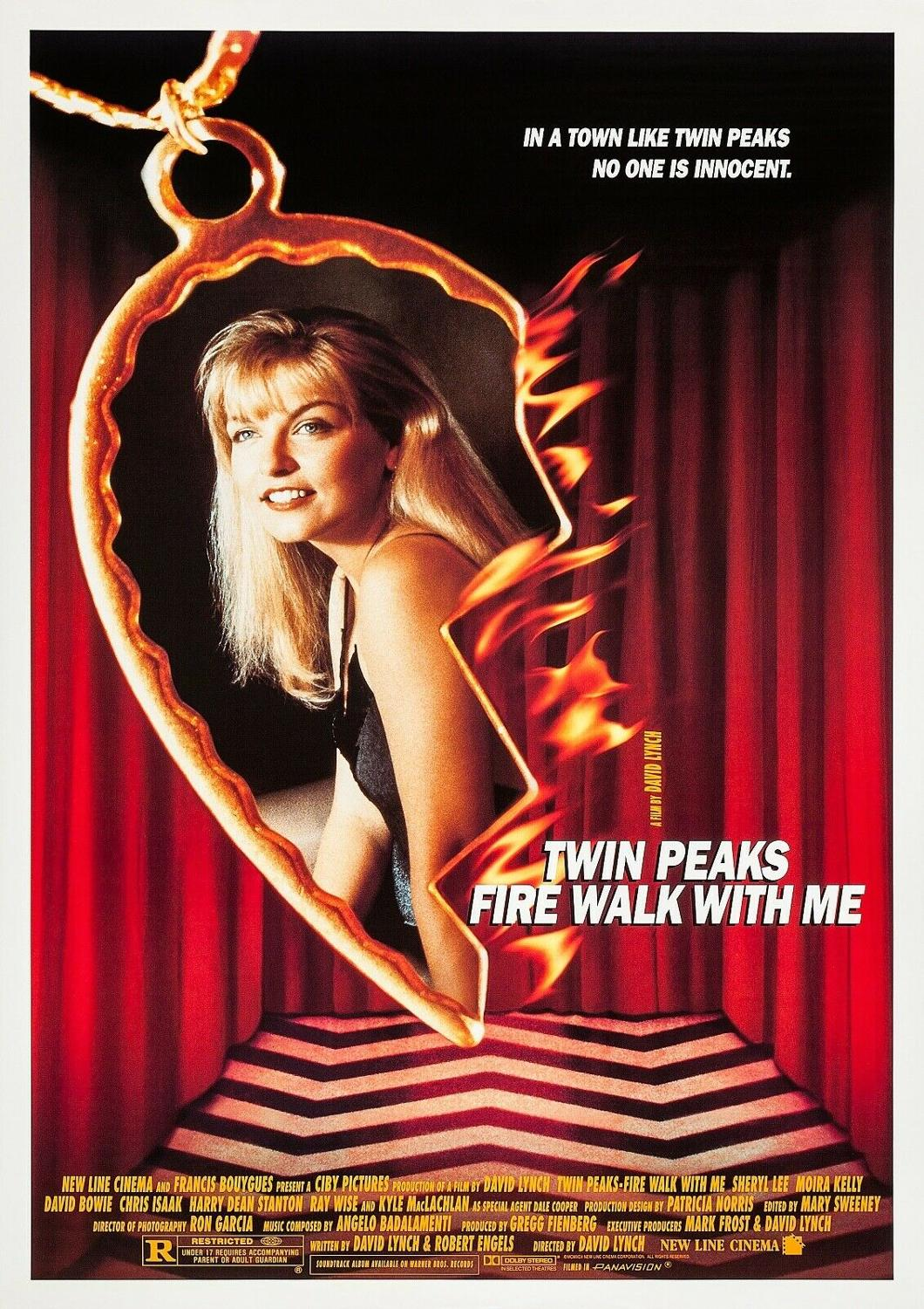TWIN PEAKS FIRE WALK WITH ME 1992 David Lynch Movie Cinema Restored Wall Sticker Silk Fabric Poster Art Indoor Decor Bright image
