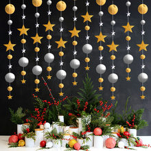 4 Meters 2019 Merry Christmas Decorations For Home Navidad Party Eve Happy New Year 2020 Garland Xmas Tree Ornaments Noel(China)
