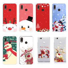 Case For Huawei P30 Pro Case Soft Christmas Back Cover For Huawei Y5 Y6 Prime 2018 Mate 20 P20 P30 Pro P30Pro P 30 Lite Case(China)