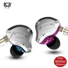 Kz ZS10 Pro 4BA + 1DD Hifi Metalen Headset In-Ear Oortelefoon Hybrid Sport Noise Cancelling Oortelefoon Zsx Zsn zax Zst AS16 AS12 AS10 C16