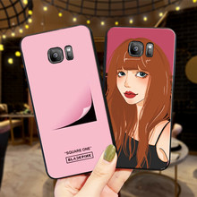For huawei honor 8C NOTE 10 VIEW 20 7C 5.99IN 7X 8X 7A 9X Pro 8 9 10 lite Silicone Phone Case BLACK PINK(China)