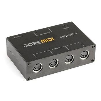 DOREMiDi MIDI слияние 5 MIDI вход 2 MIDI выход Поддержка USB Power слияние-5