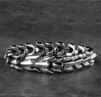 Bracelet dragon Yage acier inoxydable 1