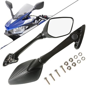 Motorcycle Rear View Rearview Mirror Motorbike Side Mirrors For YAMAHA YZF R3 R25 R15 YZF-R3 YZF-R25 YZFR3 2014 2015 2016 2017