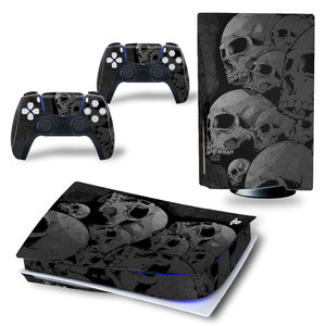 Image 5 - Angry Skull PS5 Standard Disc Edition Skin Sticker Decal Cover for PlayStation 5 Console & Controller PS5 Skin Sticker Vinyl