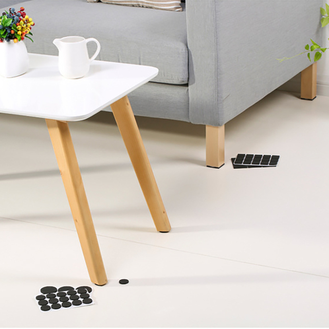 GUANYAO Non-slip Furniture Floor Mat Bumper Damper For Chair Protector Hardwarefloor Protection Mat Self Adhesive Furniture Legs 1