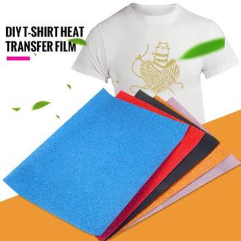Planchado en papel, impresión de camisetas, papel de Color claro, impresoras de inyección de tinta, brillo Diy, 30cm de ancho, imágenes, telas, telas creativas