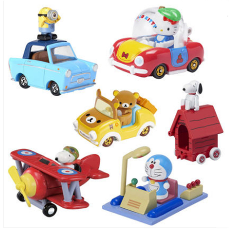TAKARA TOMY Tomica Motors Goody Carry Toy Car PokemonPikachu модель детский грузовик куклы