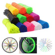 Spoked Protector Pipe Skin-Covers Bike Cool-Accessories Bicycle Motorcycle-Wheel Motocross