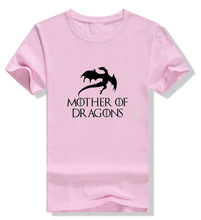 hot sale Game of Thrones Mother Of Dragons women t shirt 2019 summer fashion tops cotton high quality t-shirt
