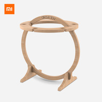 Xiaomi Youpin Circle Joy Creative Ring Wine Glass Holder Imported Eucalyptus Simple Design Easy To Assemble