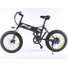 Folding Electric Bike 1000W Motor with 48V 14Ah Samsung Removable Lithium-Ion Battery 20 inch Ebike