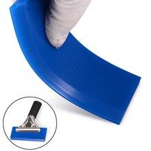 FOSHIO BLUEMAX – lame de bande de caoutchouc pour raclette de vitres de voiture, outils de teinte, essuie glace, grattoir à glace, nettoyeur de voiture, enveloppe en vinyle