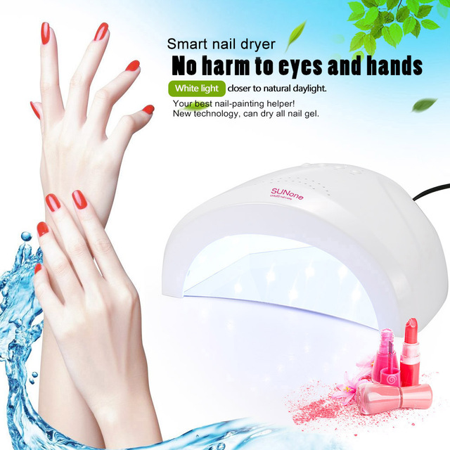 Abody Nail Lamp 48W SUNONE Professional LED UV Nail Lamp Nails Light Nail Dryers UV Lamp Fingernail Toenail Gel Curing free ship