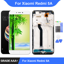 For Xiaomi Redmi 5A LCD Display Touch Screen Digitizer Assembly Repair Parts for Xiaomi Redmi 5A LCD with Frame Replacement