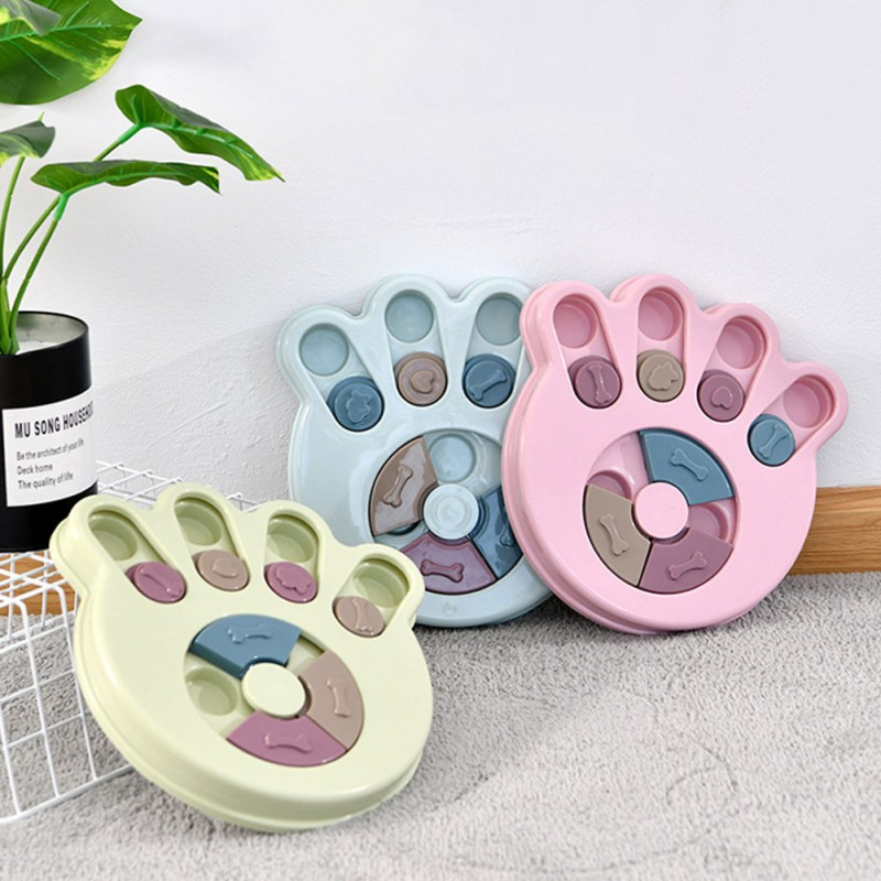 Pet Cat Flower Design Anti Choke Dog Bowl Educational Dog Toys Puppy Dog Food Dispenser Pet Dog Training Toys Pet AccessoriesCM