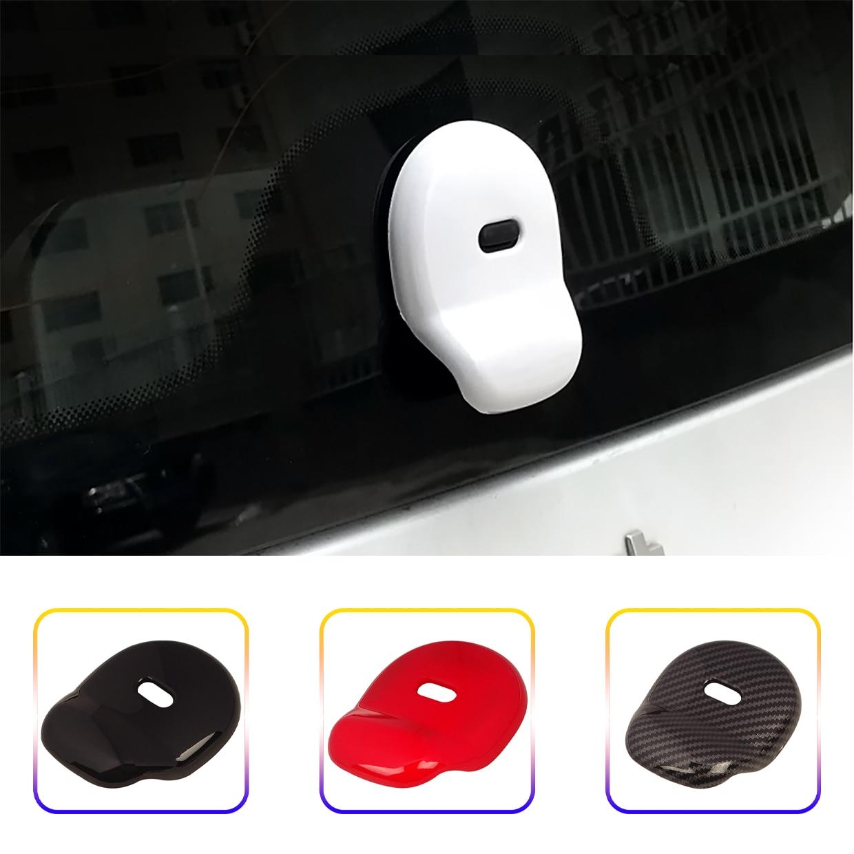 Углеродное волокно, цветные пластиковые ABS дверные ручки, декоративные наклейки для автомобиля, подходят для умных fortwo 453, модификация отдел...