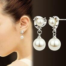 S925 srebro gorąca sprzedaży kolczyki z Bohimia nie blaknące długie perłowe moda kryształowe kolczyki dla kobiet prezenty