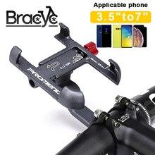 Универсальный держатель для телефона и велосипеда из алюминиевого сплава, нескользящий держатель для мобильного телефона на руль мотоцикл...