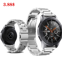 Galaxy watch 46mm strap for samsung gear s3 frontier Huawei watch GT amazfit bip strap 22mm watch band Stainless steel bracelet stainless steel for huawei watch gt watches strap 22mm for samsung galaxy 46mm gear s3 watch band replacement bracelet wristband