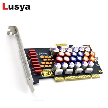 PC Hi-Fi фильтр питания карта PCI/PCI-E HiFi PC аудио усилитель мощности purificic SNR оптимизация аудио обновление DIY G1038