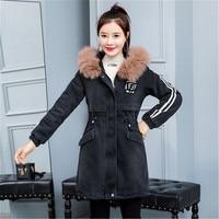 new spring jacket Women Plus Size Winter Warm Plush Lapels Jacket Outwear coat super Women's cotton jacket quality clothes