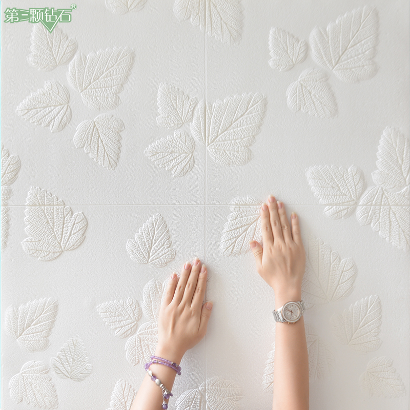 High quality fashionable new design 3D foam wall sticker of interior wall decoration and ceiling decoration interior design