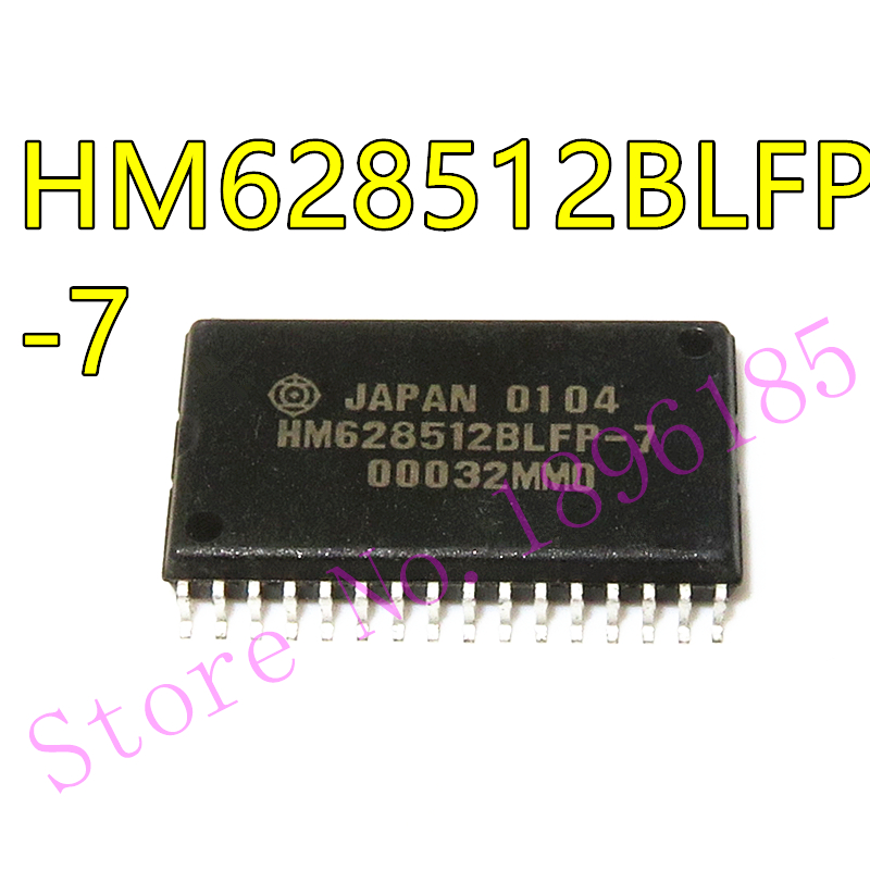 1pcs/lot HM628512BLFP-7 HM628512BLFP-7 HM628512 <font><b>628512</b></font> SOP-32 In Stock image