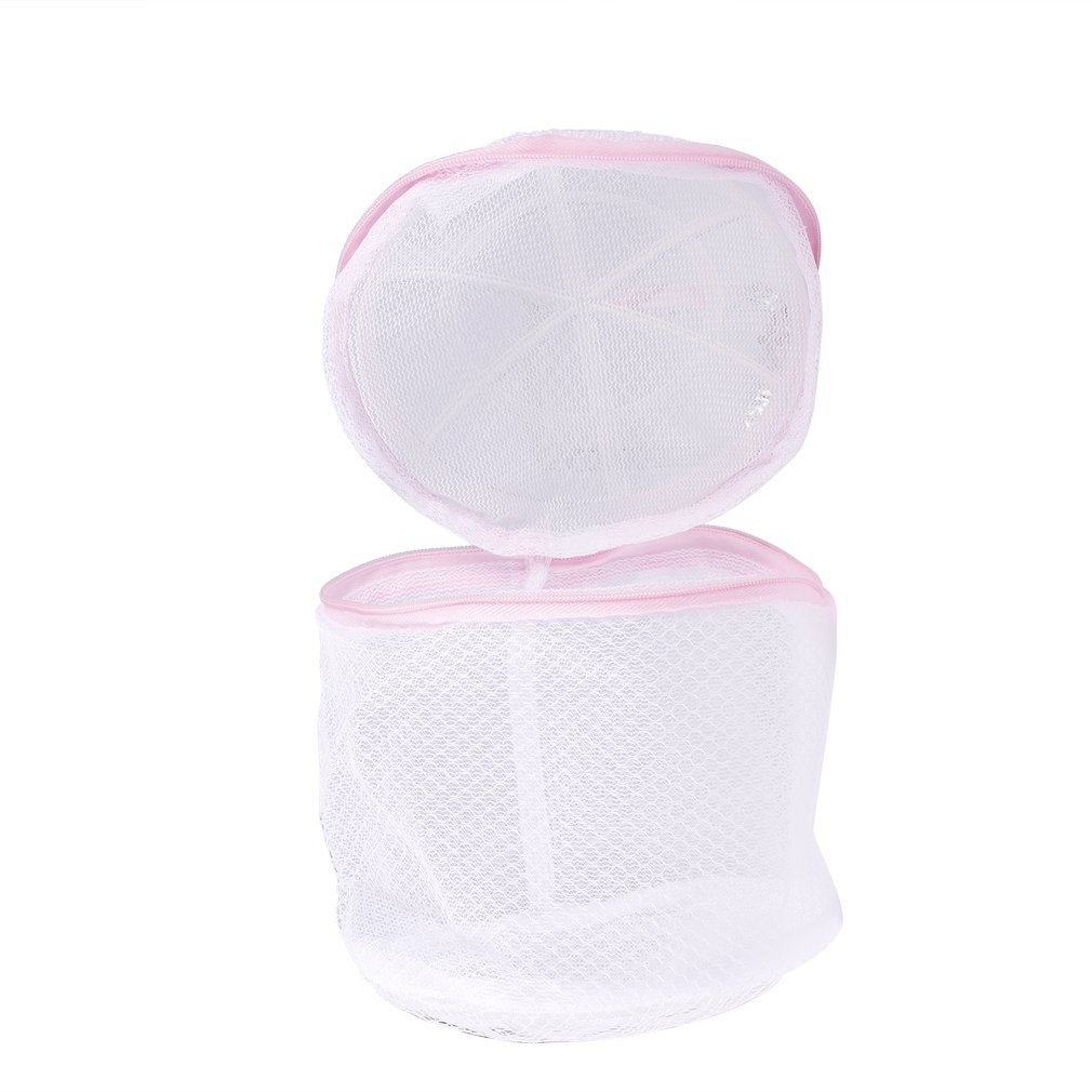 1pc Laundry Wash Bags Zippered Mesh Foldable Lingerie Bra Socks Underwear Washing Machine Clothes Protection Net 120X150mm