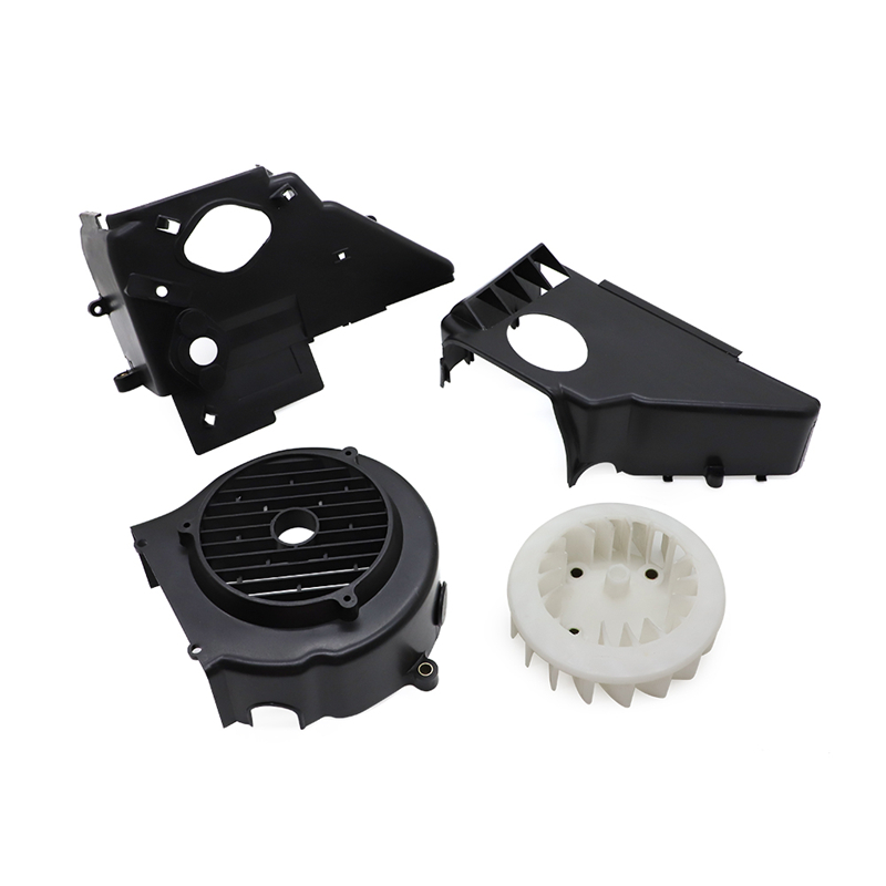 For GY6-Style 150cc Engine Complete Air Shroud Cooling Assembly w/ Fan Cover For GY6 150cc ATV Go Kart Buggy's & Scooter Engines