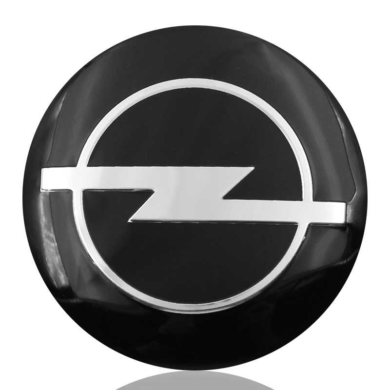 4 Buah/Banyak 56 Mm Mobil Styling Mobil Rim Roda Pusat Hub Cap Stiker untuk Opel Zafira B Astra H G J K F Mokka Corsa B C D Vectra