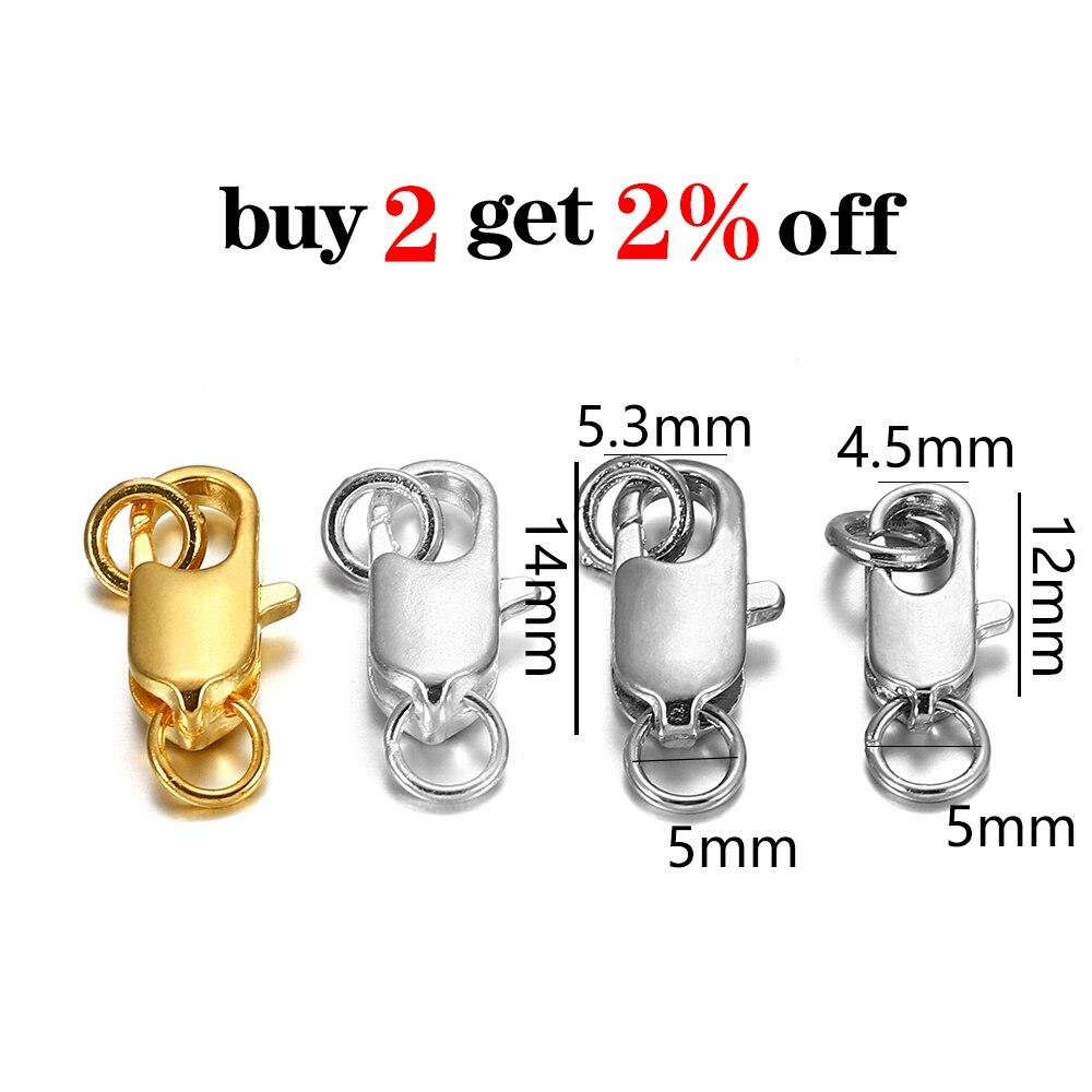 Купить поворотная застежка 30 шт/лот с открытым соединительным кольцом