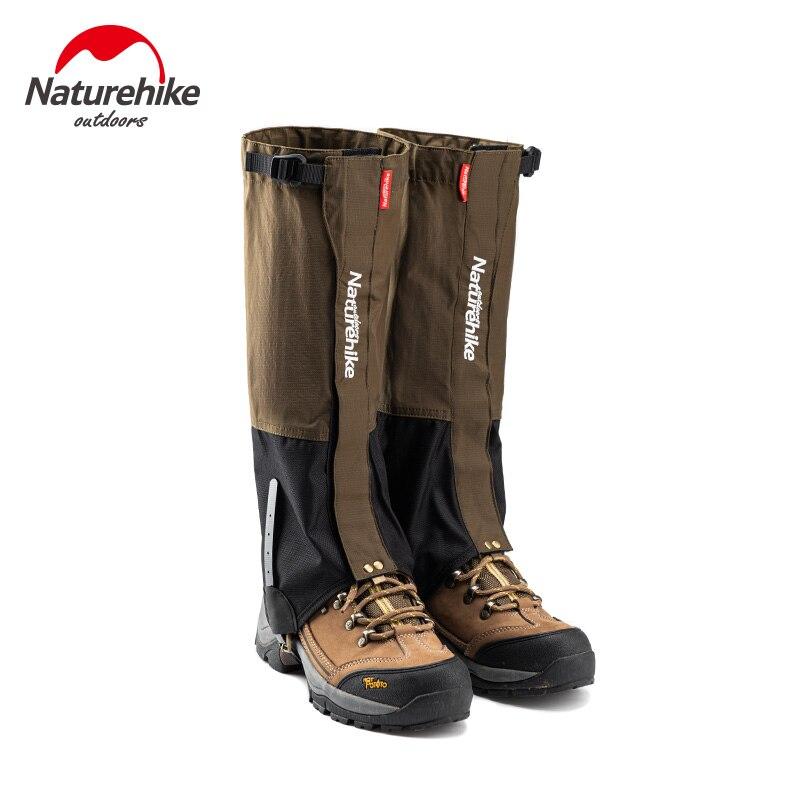 Naturehike Winter Trekking Leg Gaiters Outdoor Waterproof Warmer Gaiters Hiking Climbing Skiing Camping Shoes Cover Ultralight