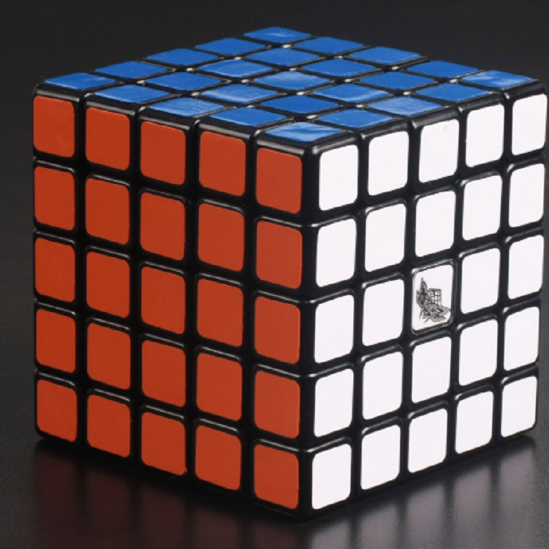 Cyclone Boys 5x5x5 Magic Cube GT Speed Puzzle Cubo Magico Stickerless 5 Layer 5x5 Neo Cube Plastic Puzzle Education Toys