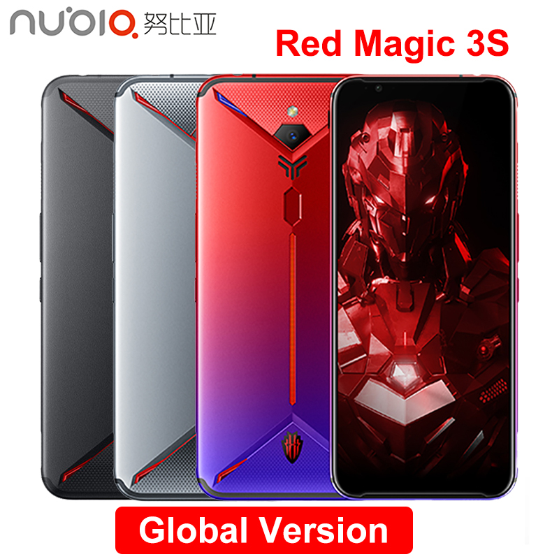 Nubia Red Magic 3S Mobile Phone 6.65 Inch 8GB/12GB RAM 128G/256GB ROM Snapdragon 855 Plus 48.0MP+16.0MP 5000mAh Game Phone