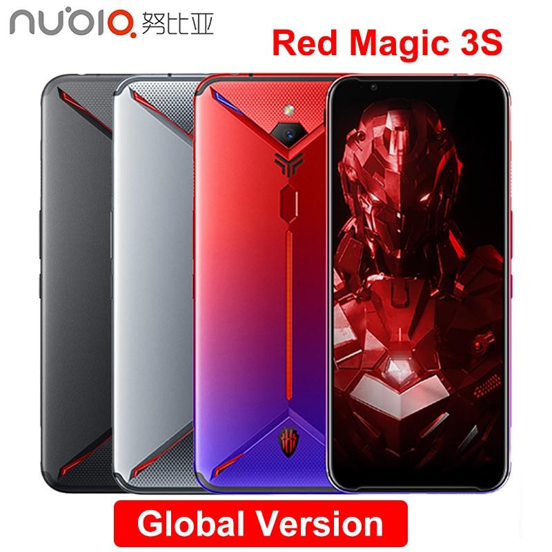 Nubia Red Magic 3S Mobile Phone 6.65 Inch 8GB/12GB RAM 128G/256GB ROM Snapdragon 855 Plus 48.0MP+16.0MP 5000mAh Game Phone