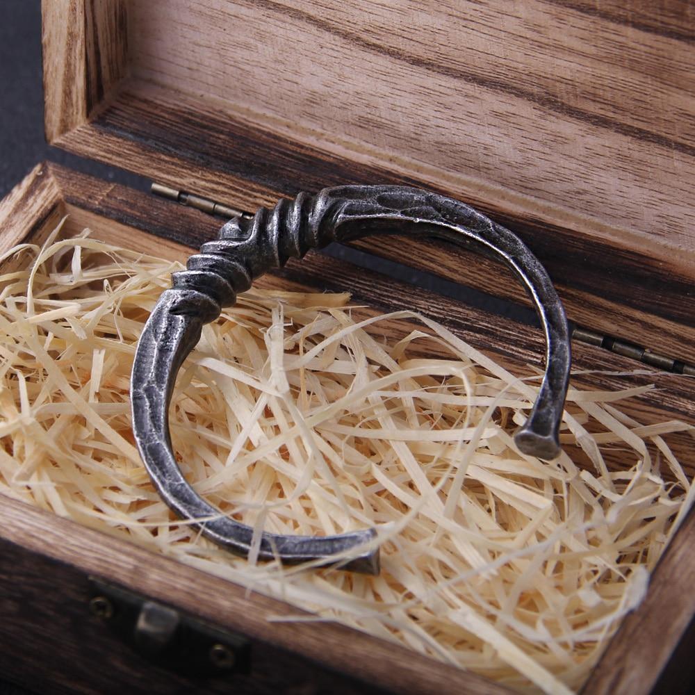 Bracelet Viking Dragon argent vintage  1