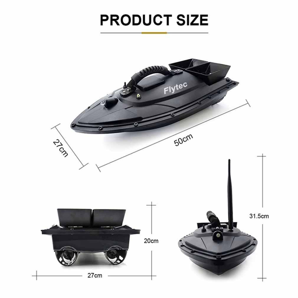 Flytec 2011-5 narzędzie połowowe Smart RC łódź z przynętą zabawka podwójny silnik lokalizator ryb łódź rybacka pilot łódź rybacka statek łódź