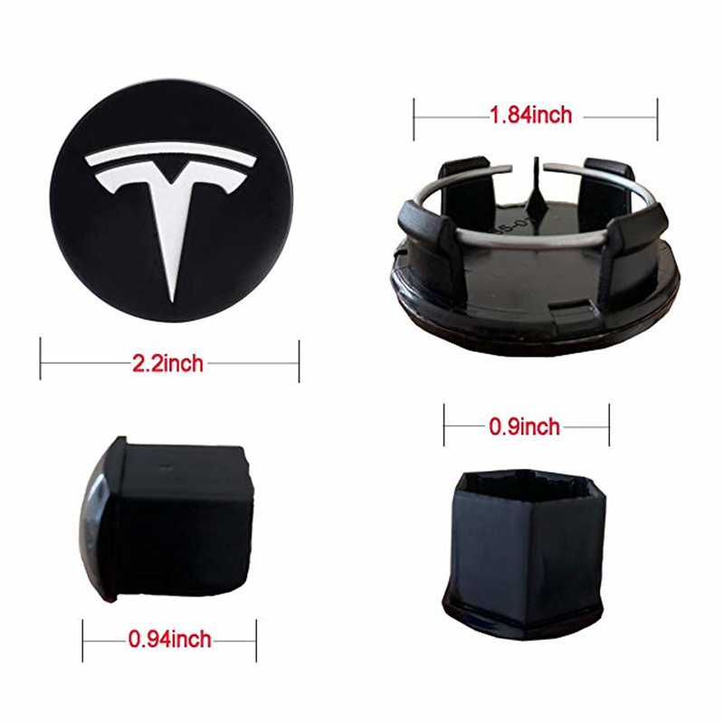 Купить для tesla алюминиевая модель 3/ s/ x/центральная крышка колеса