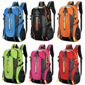 40l 6 cores esportes ao ar livre escalada montanhismo mochila acampamento caminhadas trekking viagem à prova dwaterproof água cobrir sacos de bicicleta