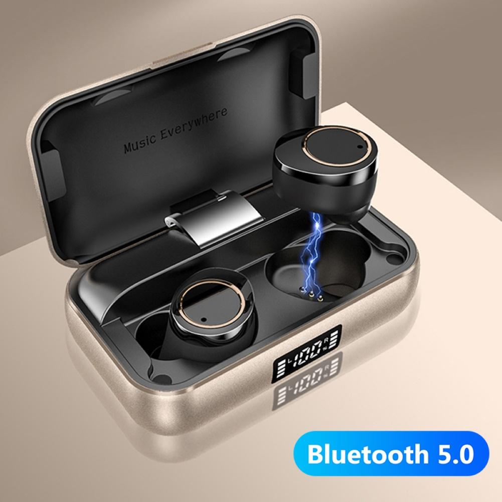 X13 Digital Display <font><b>TWS</b></font> Bluetooth <font><b>5.0</b></font> Sports Earbuds Earphones Stereo Headset image