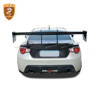 CSSYL Real fibra de carbono GT alerón trasero Universal Auto alerón tipo ala GT accesorios Auto para Toyota GT 86