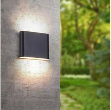 Modern indoor / outdoor decoration with double head aluminum wall lamp outdoor waterproof IP65 wall lamp 6W / 12W LED wall lamp