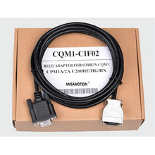 цена на Hot items CQM1-CIF02 9pin female interface PLC Programming cable for OMRON CPM1A/2A CQM1 C200HS series