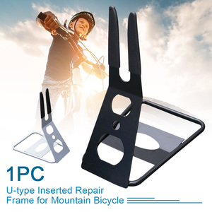 Дисплей Нескользящая прочная практичная напольная портативная стойка для парковки стойка u-образная сталь для велоспорта для ремонта горн...