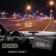 Heads-up display a bordo monitor obd carro universal hd projetor hud head up display