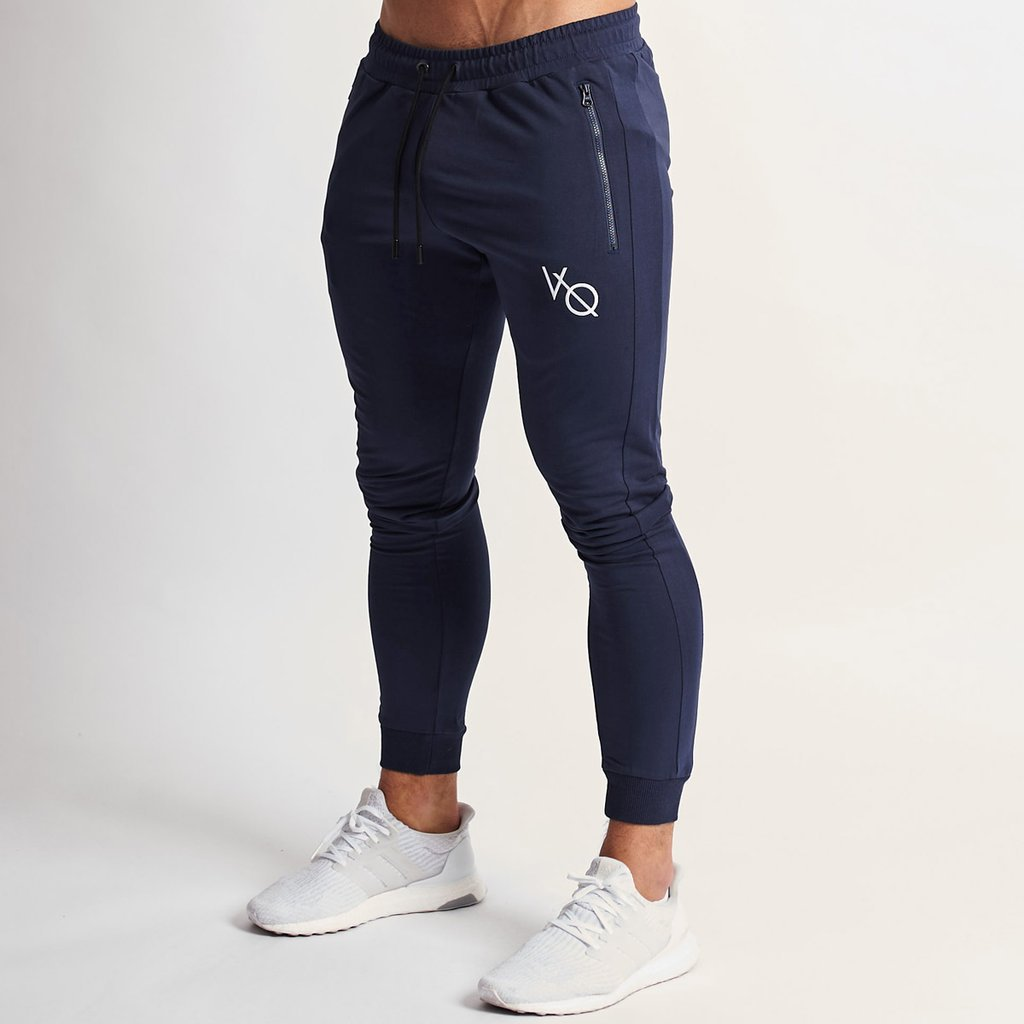 Vq Jogger Pants New Brand Leisure Sports Pants Men's Training Fitness Hip Hop Men's Pants Cotton Elastic Waist Pencil Pants 2019