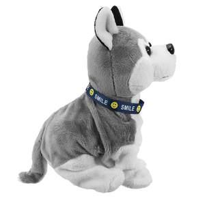 Image 4 - Электронная Интерактивная игрушка со звуковым управлением для собак, робот, щенок, лай, подставка, 8 ходов, плюшевые игрушки для детей, подарки