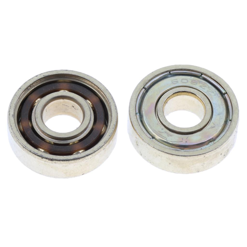16Pcs 608 ZZ Skateboard / Inline Skate / Roller Bearing, Double
