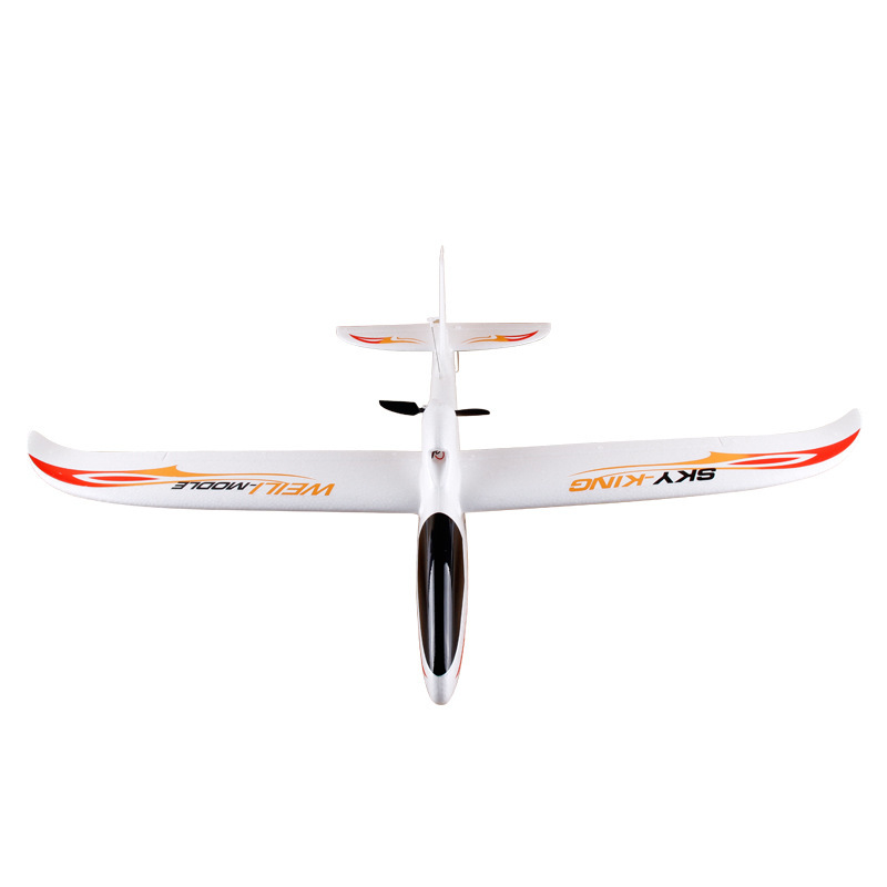 Weili New Style F959 Gliding Airplane EPO Model T-connector Push-Back Fixed-Wing Drop-resistant Model Airplane Remote Control Ai